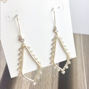 Kendra Scott Bea gold earrings